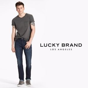"LUCKY BRAND ""121 Heritage"" Slim Straight Jeans"